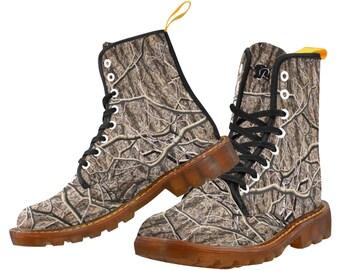 Men's Martin Boots Timber Camo