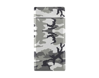 Rechargeable USB Lighter Grey Camo