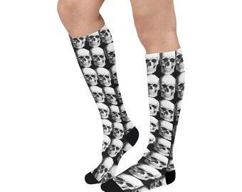 Long Socks Skulls