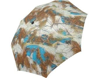 Auto Folding Umbrella Landscaping