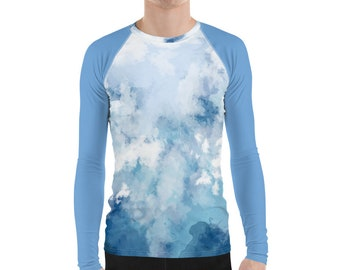 Men's Rash Guard Ocean Blue