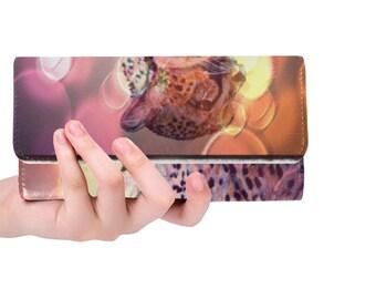 Women's Trifold Wallet Cheetah