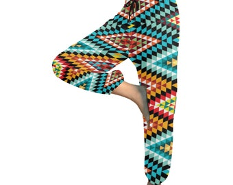 Women's Harem Pants African Pattern