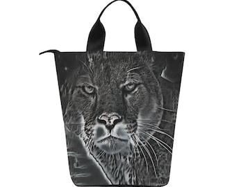 Lunch Bag Smokey Cougar