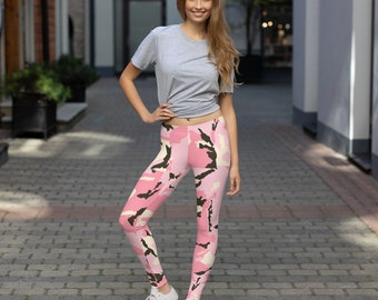 Women's Leggings Camo Pink