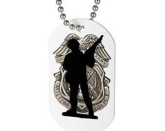 Dog Tag US Soldier