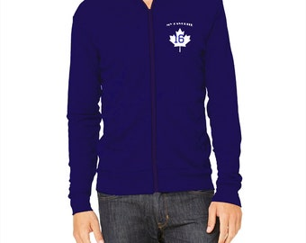 Sueded Zippered Jacket Maple Leaf 16