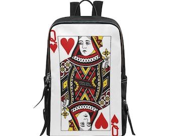 Backpack Slim Queen Of Hearts