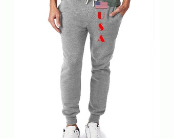 Unisex Eco Fleece Joggers USA