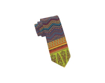 Men's African Pattern Neck Tie