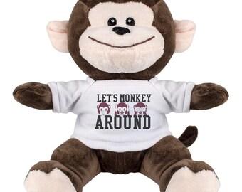 Monkey Around Plush Toy