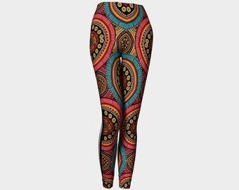 Women's Leggings African Design