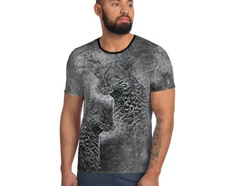 Men's Athletic T-shirt WildRness Cheetah
