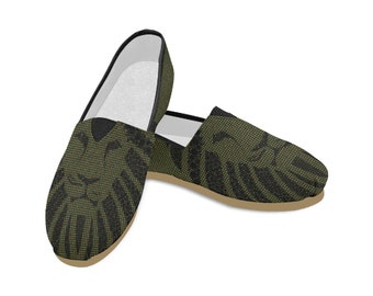 Women's Casual Slip On Canvas Shoes
