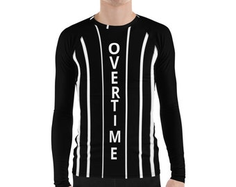 Men's Rash Guard Overtime
