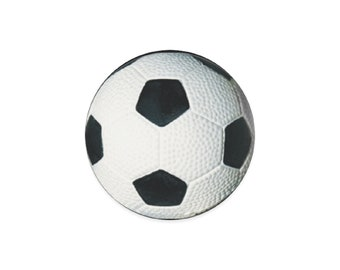 Round Soccer Ball Coasters
