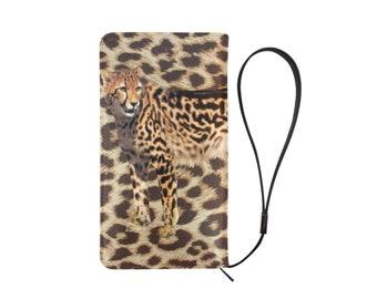 Men's Wallet Clutch Color Cheetah