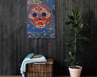 Dream Blossom Stretched Canvas Print