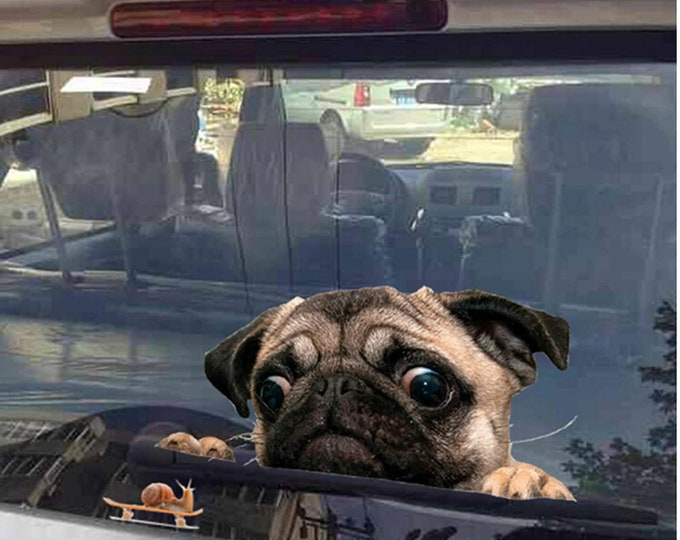 Featured listing image: Pug Sticker