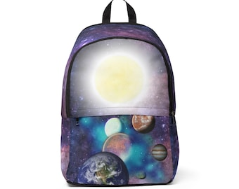 Unisex Fabric Backpack Galaxy