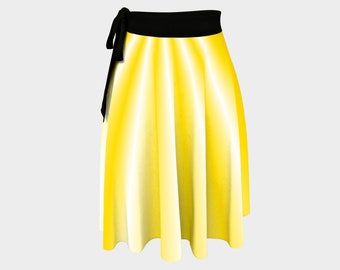 Sunray Wrap Skirt
