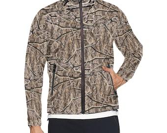 Men's Windbreaker Jacket Camouflage