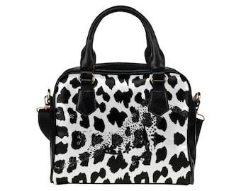 Handbag BW Cheetah Print