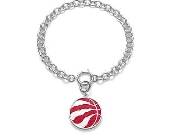 Chunky Chain Bracelet Basketball