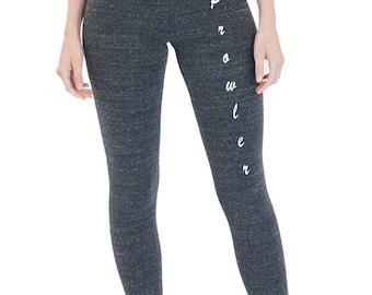 Women's spandex Jersey Leggings