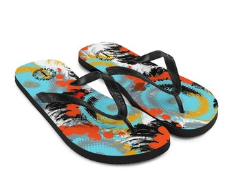 Flip-Flops African Pattern Men and Women