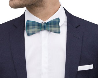 Bow tie Blue Plaid