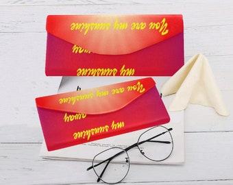 Eyeglasses Custom Foldable Case Sunshine