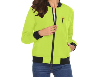 Women's Bomber Jacket Variable Colors