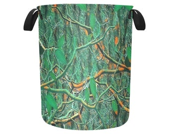 Laundry Bags Green Timber