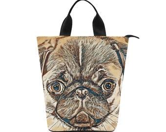 Lunch Bag Pug