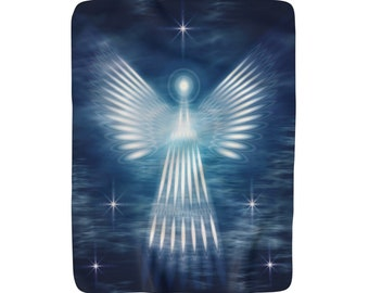 Sherpa Fleece Blanket Angel Of Light