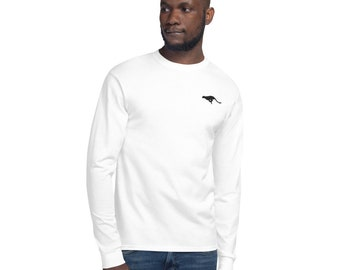 Men's Champion Long Sleeve Shirt Cheetah Embroidery