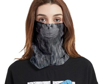 Face Cover Bandana Chimp