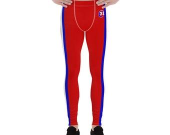 Men's Leggings Sports Red Montreal 31
