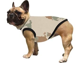 Dog Vest Sand Camouflage