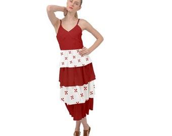 Women's layered Bottom Dress