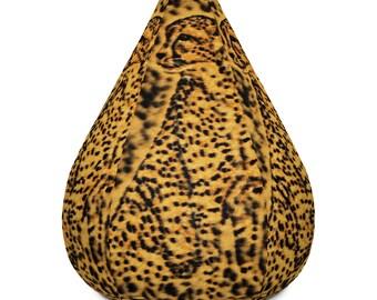 Bean Bag Chair w/ filling Cheetah