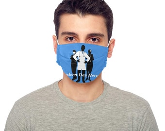 Face Mask Pleated Drawstring