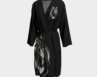 Horse Peignoir Robe