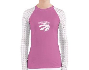 Women's Rash Guard Basketball