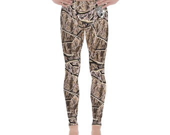 Men's Leggings Timber Wolf