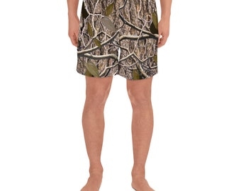 Men's Athletic Long Shorts Timberleaf