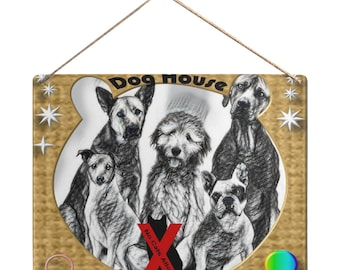 Hanging Sign For Doghouse