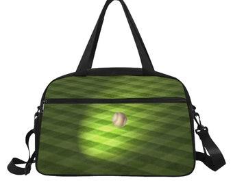 Fitness Bag Baseball Print
