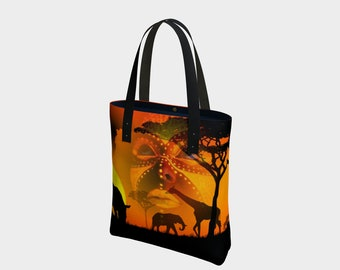 African Safari Tote Bag